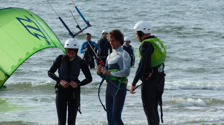 Kitesurfen-Schouwen-Duiveland-Kitesurfing Unterricht in der Nähe von Rotterdam-4