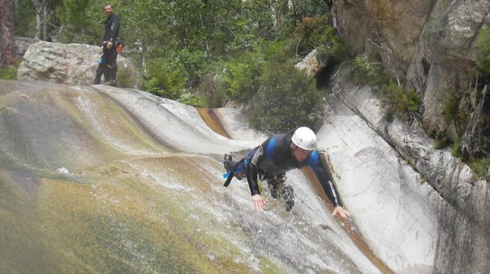 Canyoning-Bavella-Canyon of Purcaraccia in Bavella, Corsica-9