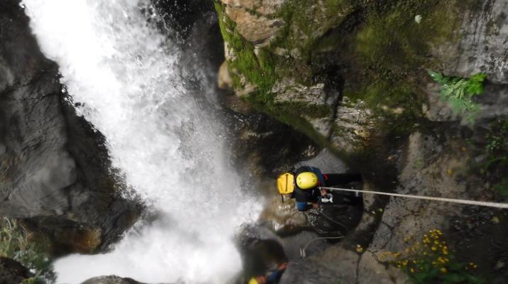 Canyoning-Lourdes-Canyon de Saugué à Lourdes-3