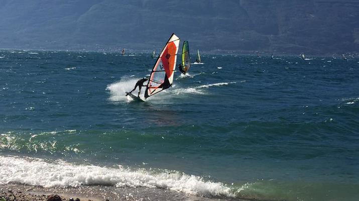 Windsurfing-Lake Garda-Windsurfing courses in Tignale, Lake Garda-3