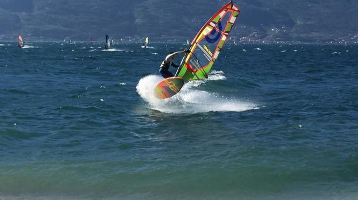 Windsurfing-Lake Garda-Windsurfing courses in Tignale, Lake Garda-1