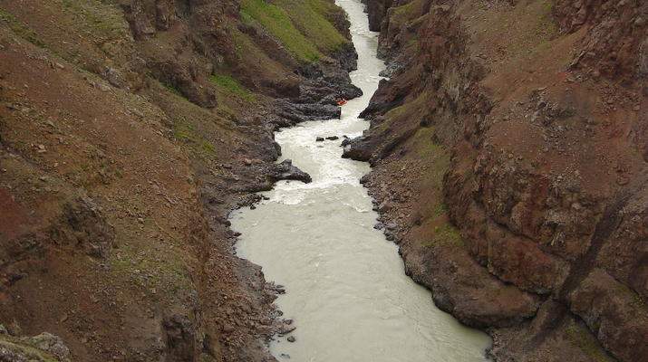 Rafting-Northwestern Region of Iceland-Extreme rafting down the East Glacial River, Northwestern Region of Iceland-8