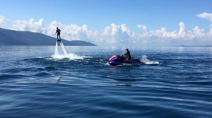 Flyboard / Hoverboard-Lake Garda-Try flyboarding in Tignale, Lake Garda-4