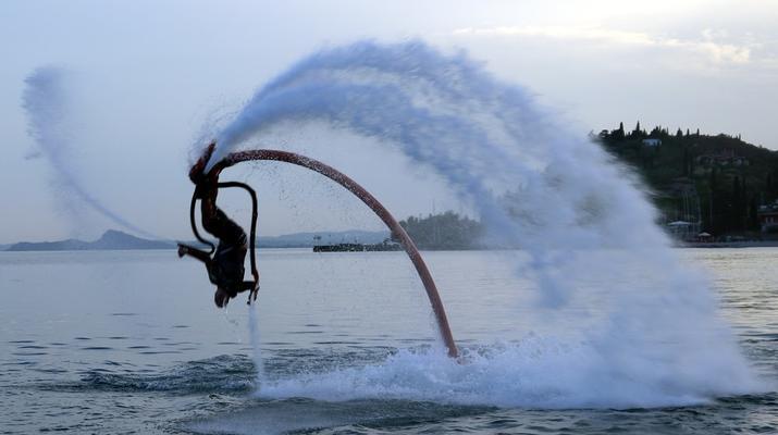 Flyboard / Hoverboard-Lake Garda-Try flyboarding in Tignale, Lake Garda-3