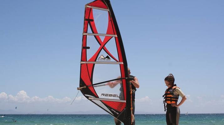 Windsurf-Tarifa-Cours privés de planche à voile à Tarifa-3