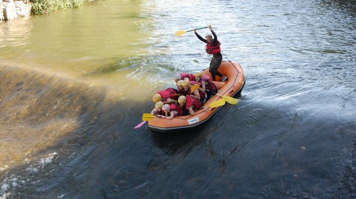 Rafting-Bagnères-de-Luchon-Rafting sur la Garonne à Marignac, près de Bagnères-de-Luchon-2