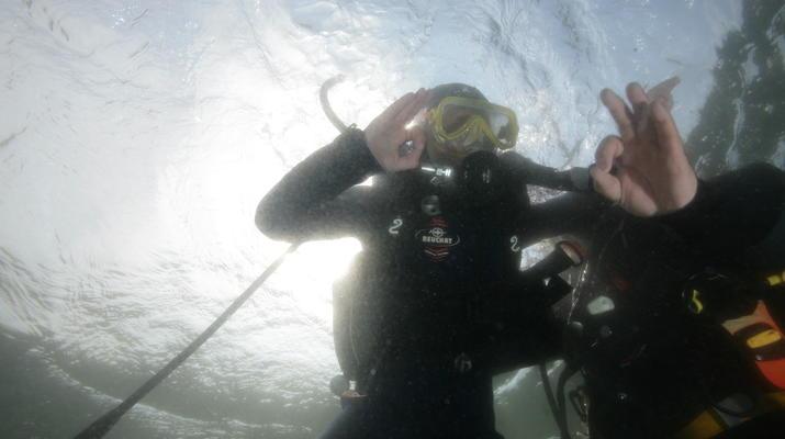 Plongée sous-marine-Brest-Initiation Plongée dans l'Aber Wrach, Bretagne-2