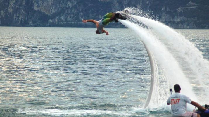 Flyboard / Hoverboard-Lake Garda-Try flyboarding in Tignale, Lake Garda-5