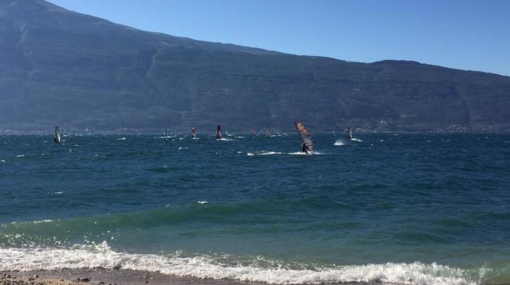 Windsurfing-Lake Garda-Windsurfing courses in Tignale, Lake Garda-6