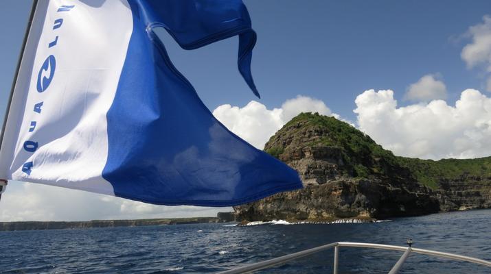 Plongée sous-marine-Port-Louis, Grande-Terre-Baptême de Plongée à Port-Louis, Guadeloupe-2
