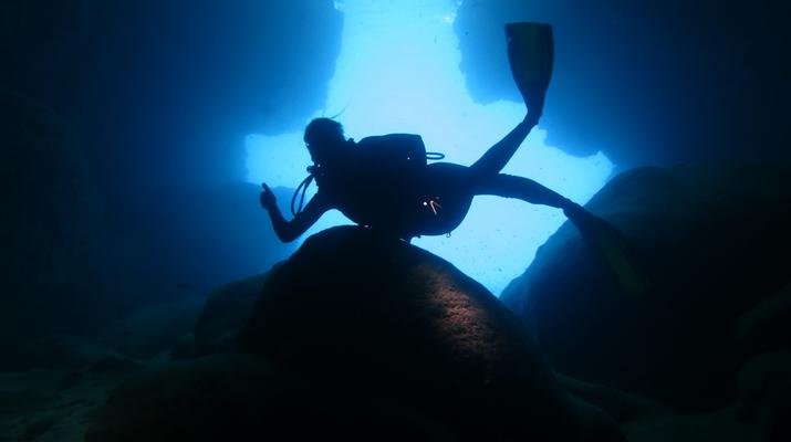 Plongée sous-marine-Port-Louis, Grande-Terre-Plongées Exploration dans les Grottes de Port-Louis, Guadeloupe-3