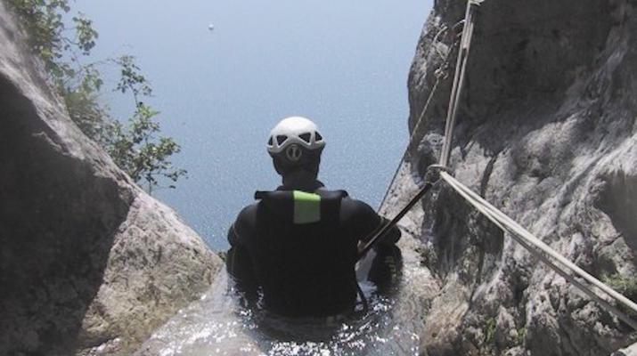 Canyoning-Lake Garda-Canyon Vione near Tignale, Lake Garda-4