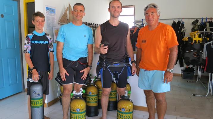 Plongée sous-marine-Port-Louis, Grande-Terre-Stage de Plongée FFESSM  Niveau 1 à Port-Louis, Guadeloupe-4