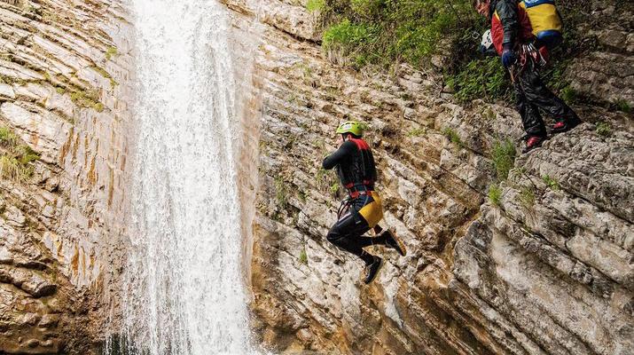 Canyoning-Lake Garda-Canyon Vione near Tignale, Lake Garda-1