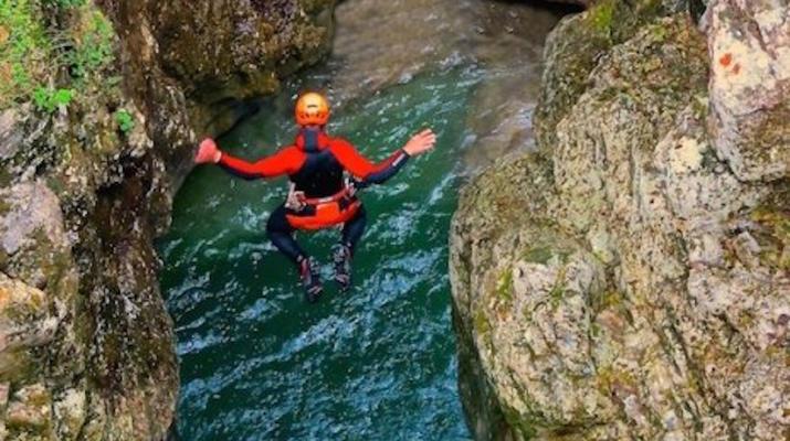 Canyoning-Arco-Canyon River Palvico near Arco, Lake Garda-5
