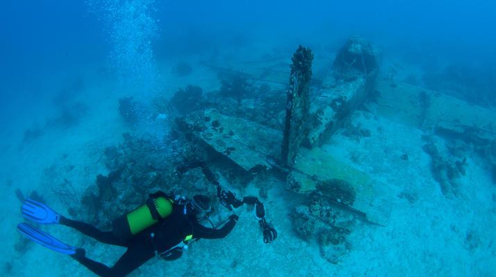Plongée sous-marine-Port-Louis, Grande-Terre-Plongées Exploration dans les Grottes de Port-Louis, Guadeloupe-2
