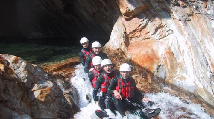 Canyoning-Lake Garda-Canyon Vione near Tignale, Lake Garda-5