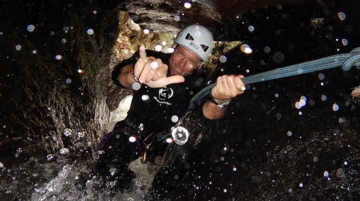Canyoning-Le Morne-Vert-Canyon de la Rivière Mitan en Martinique-1