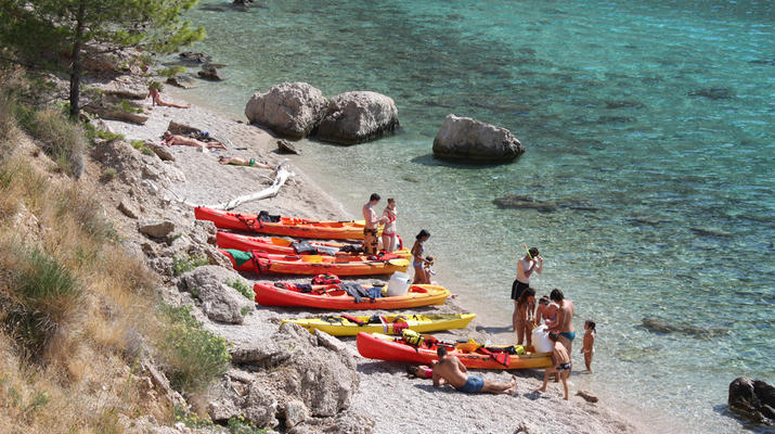 Sea Kayaking-Split-Sea kayaking and snorkeling excursion in Brela from Split-7