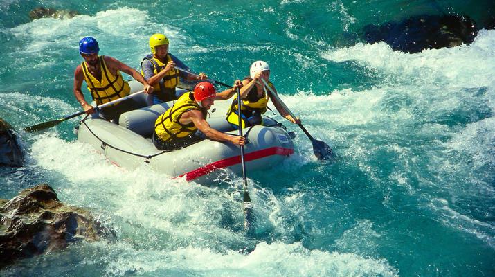Canoë-kayak-Alagna Valsesia-2 jours de descente de la rivière Sesia à Alagna Valsesia-1