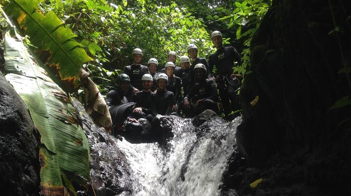 Canyoning-Le Morne-Vert-Canyon de la Rivière Mitan en Martinique-2