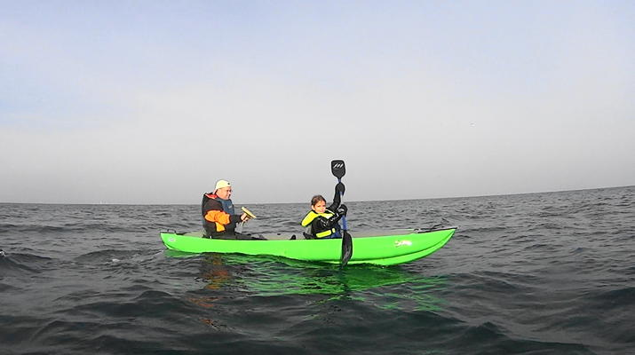 Kayak de mer-Deauville - Trouville-Randonnées Kayak de Mer le long des falaises de Deauville-Trouville-2
