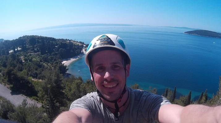 Rock climbing-Split-Rock climbing on Marjan Hill right outside of Split-4