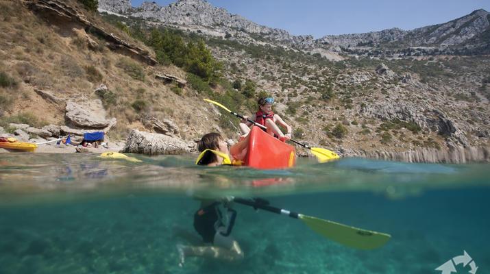 Sea Kayaking-Split-Sea kayaking and snorkeling excursion in Brela from Split-6