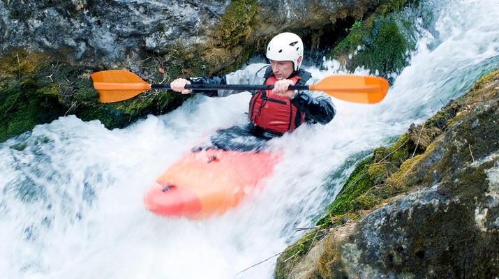 Canoë-kayak-Alagna Valsesia-2 jours de descente de la rivière Sesia à Alagna Valsesia-4