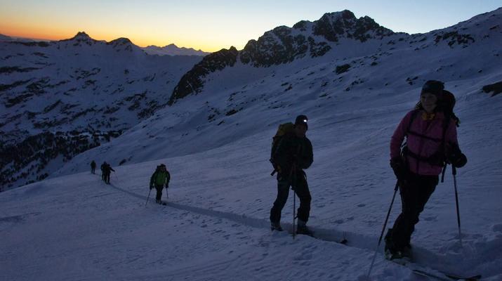 Ski de Randonnée-Font Romeu-Week-end Ski de Randonnée près de Font-Romeu dans Les Pyrénées-1