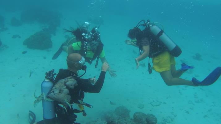 Plongée sous-marine-Moorea-Stage de Plongée FFESSM / ANMP / CMAS à Moorea-4