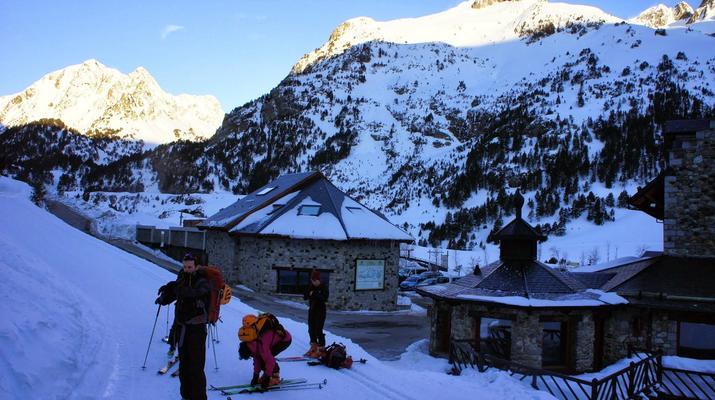 Ski de Randonnée-Font Romeu-Week-end Ski de Randonnée près de Font-Romeu dans Les Pyrénées-5