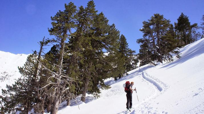 Ski de Randonnée-Font Romeu-Week-end Ski de Randonnée près de Font-Romeu dans Les Pyrénées-2