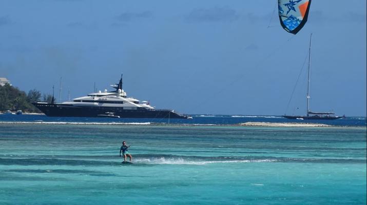 Kitesurf-Le Marin-Croisière catamaran et kitesurf de 10 jours / 9 nuits autour des îles Grenadines-4