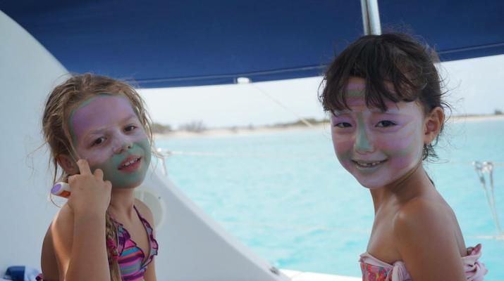 Kitesurf-Le Marin-Croisière catamaran et kitesurf de 10 jours / 9 nuits autour des îles Grenadines-5