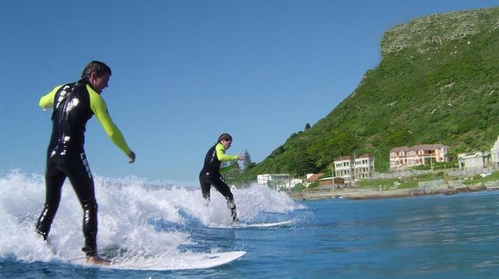 Surfing-Cape Town-Surfing lesson in Muizenberg Bay near Cape Town-6