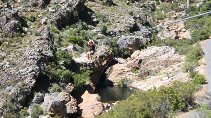 Zip-Lining-Ceres Mountain Fynbos Nature Reserve-Ziplining excursion in Ceres Mountain Fynbos Nature Reserve-1