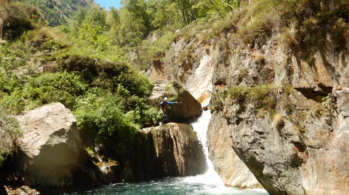 Canyoning-Ariege-Canyon de Marc en Ariège-4