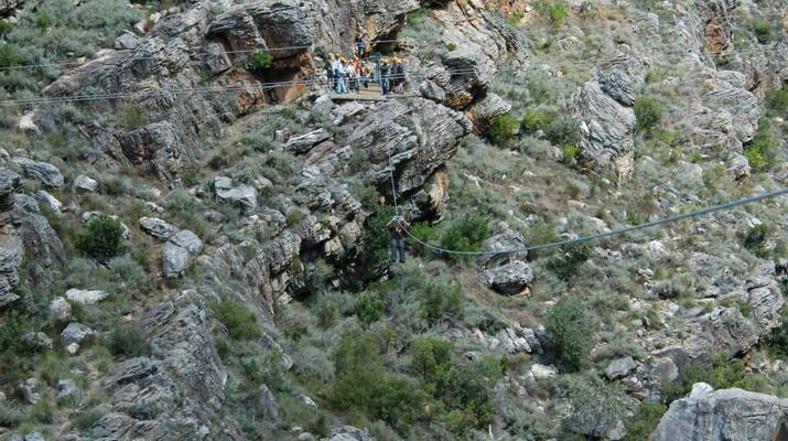 Zip-Lining-Ceres Mountain Fynbos Nature Reserve-Ziplining excursion in Ceres Mountain Fynbos Nature Reserve-2