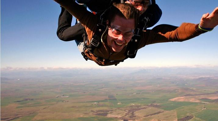 Skydiving-Cape Town-Tandem skydive from 9000 ft near Cape Town-2