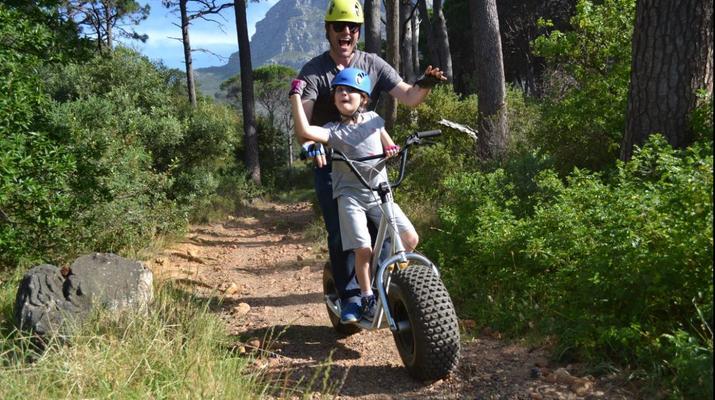 Trottinette-Le Cap-Pistes de descente en scooter sur Table Mountain-6