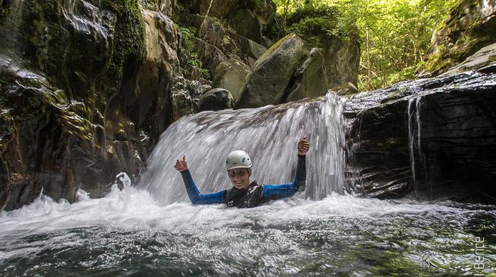 Canyoning-Ariege-Canyon de Marc en Ariège-1