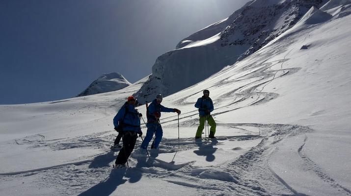 Heliski-Zermatt-Journée d'héliski sur le glacier de Zermatt depuis Gressoney-3