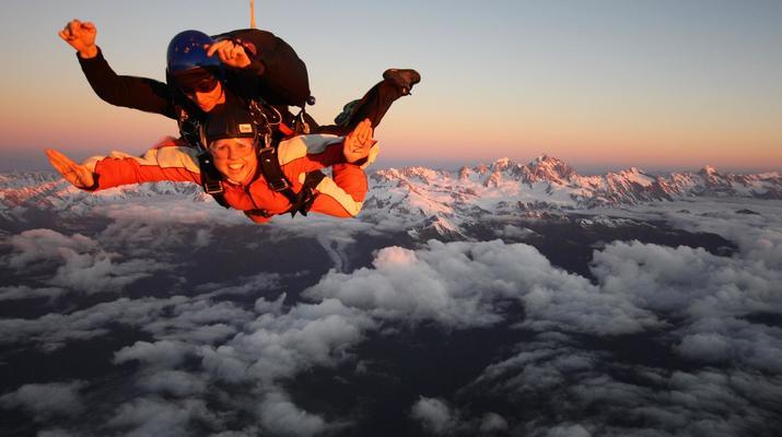 Skydiving-Franz Josef Glacier-Tandem skydive over Franz Josef Glacier-2