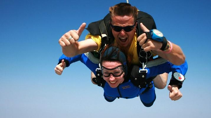 Skydiving-Cape Town-Tandem skydive from 9000 ft near Cape Town-1