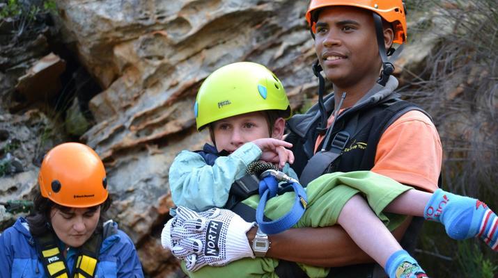 Zip-Lining-Ceres Mountain Fynbos Nature Reserve-Ziplining excursion in Ceres Mountain Fynbos Nature Reserve-3
