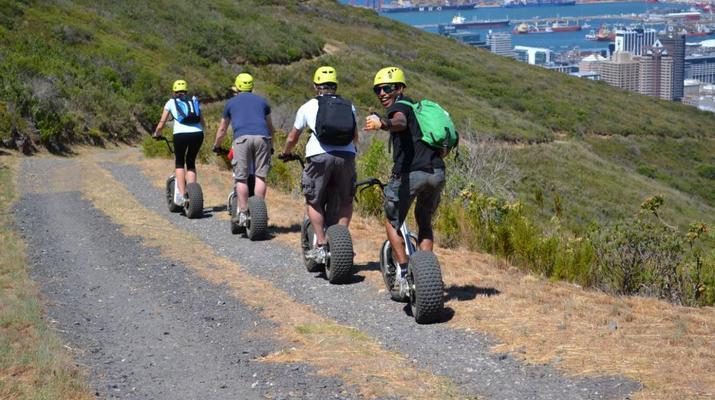 Trottinette-Le Cap-Pistes de descente en scooter sur Table Mountain-4