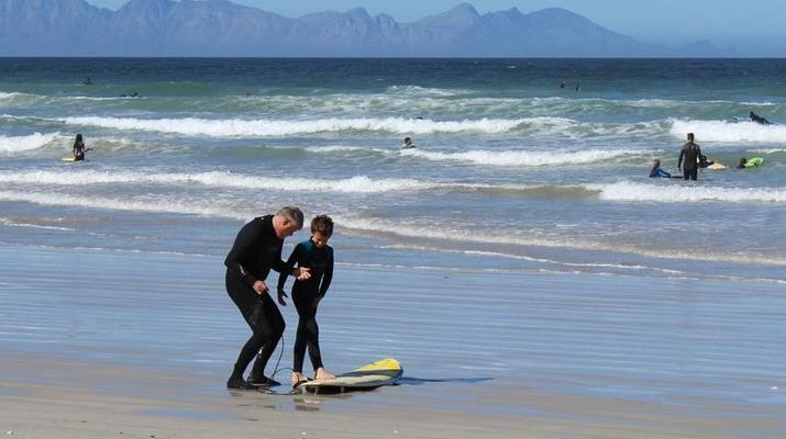 Surfing-Cape Town-Surfing lesson in Muizenberg Bay near Cape Town-4