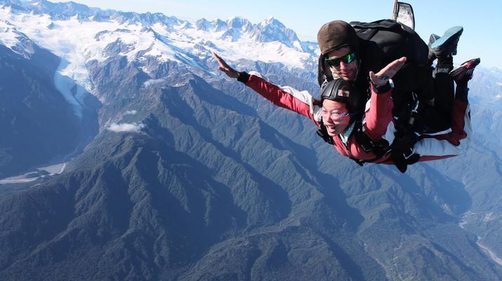 Skydiving-Franz Josef Glacier-Tandem skydive over Franz Josef Glacier-6