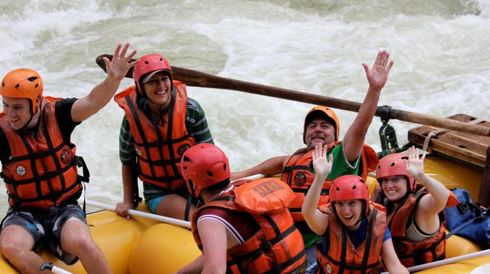 Rafting-Livingstone-White water rafting excursions on the Zambezi River-6